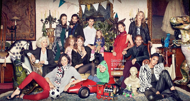 DALIA GELLERT / COMMERCIALS / PRODUCTION BUYER   FOR H&M CHRISTMAS